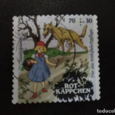 Sellos: ALEMANIA 2016. LITTLE RED RIDING HOOD. MI:DE 3208,(2414). Lote 206427898
