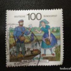 Sellos: ALEMANIA 1991. POSTAL DELIVERY IN SPREEWALD REGION. MI:DE 1570, (2495). Lote 206584595