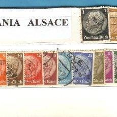 Sellos: LOTE DE SELLOS ALEMANIA- ALSACE. Lote 206594653