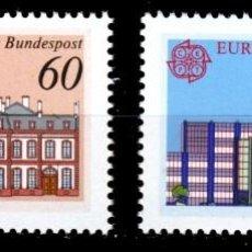 Sellos: ALEMANIA FEDERAL,1990 YVERT Nº 1293 / 1294 /**/, EUROPA (CEPT), EDIFICIOS DE OFICINAS DE CORREOS. Lote 207042461