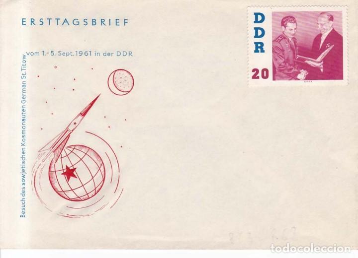 ALEMANIA DEMOCRATICA AÑO 1961 YVERT 579 VISITA DEL COSMONAUTA TITOV (Sellos - Extranjero - Europa - Alemania)