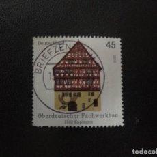 Sellos: ALEMANIA 2010. UPPER GERMAN HALF-TIMBERED BUILDING IN EPPINGEN. MI:DE 2823,(1464). Lote 207236653