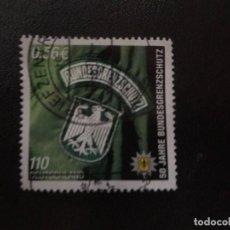 Sellos: ALEMANIA 2001. BORDER PATROL. MI:DE 2175, (1467). Lote 207237726