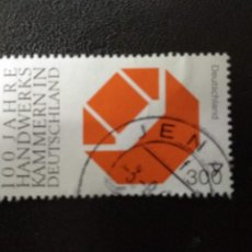 Sellos: ALEMANIA 2000. CENTENARY OF CHAMBERS OF CRAFTS IN GERMANY. MI:DE 2124,(328). Lote 207340601