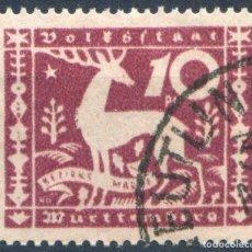 Sellos: ALEMANIA WURTTEMBERG 1920 MICHEL 144 USADO MARQUILLADO - 15/61. Lote 208047447