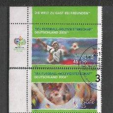 Sellos: ALEMANIA FEDERAL AÑO 2003 SERIE Nº 2152/2156.USADA. CATÁLOGO YVERT. Lote 209160666
