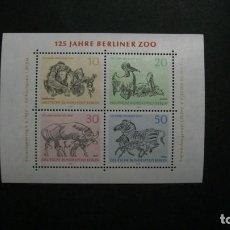 Sellos: /04.07/-BERLIN-1969-BLOQUE Y&T 2 EN NUEVO SIN FIJASELLOS(**MNH). Lote 210414468