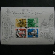 Sellos: /04.07/-BERLIN-1973-BLOQUE Y&T 4 EN USADO/º/. Lote 210415396