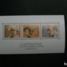 Sellos: /04.07/-ALEMANIA FEDERAL-1978-BLOQUE Y&T 15 EN NUEVO SIN FIJASELLOS(**MNH). Lote 210416070