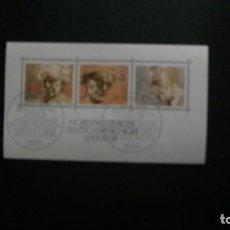 Sellos: /04.07/-ALEMANIA FEDERAL-1978-BLOQUE Y&T 15 EN USADO/º/. Lote 210416137