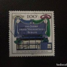 Sellos: ALEMANIA BERLIN 1990 (61). Lote 210600668