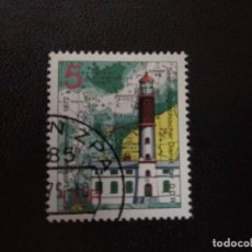 Sellos: ALEMANIA DDR 1975. LEITFEUER TIMMENDORF. Lote 210618628