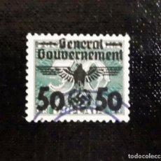 Sellos: 1940 ALEMANIA, SELLOS DE POLONIA SOBRECARGADOS GOBIERNO GENERAL, 50 / 30GR. Lote 211441030