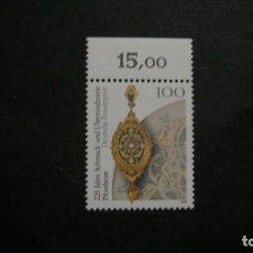 Sellos: /11.07/-ALEMANIA FEDERAL-1992- 100 PF. Y&T 1459 SERIE COMPLETA EN NUEVO SIN FIJASELLOS(**MNH). Lote 211450489