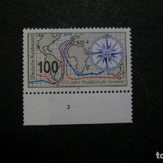 Sellos: /11.07/-ALEMANIA FEDERAL-1993- 100 PF. Y&T 1479 SERIE COMPLETA EN NUEVO SIN FIJASELLOS(**MNH). Lote 211451470