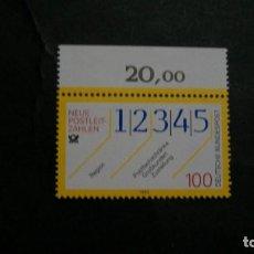 Sellos: /11.07/-ALEMANIA FEDERAL-1993- 100 PF. Y&T 1491 SERIE COMPLETA EN NUEVO SIN FIJASELLOS(**MNH). Lote 211452152