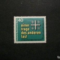 Sellos: /12.07/-BERLIN-1977-Y&T 510 SERIE COMPLETA EN NUEVO SIN FIJASELLOS(**MNH). Lote 211602905