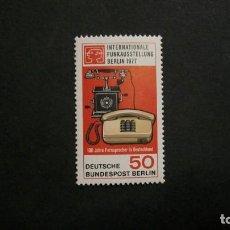 Sellos: /12.07/-BERLIN-1977-Y&T 512 SERIE COMPLETA EN NUEVO SIN FIJASELLOS(**MNH). Lote 211603114