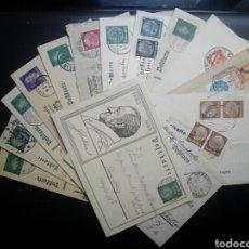 Sellos: LOTE 16 ENTEROS POSTALES ALEMANIA REICH HASTA 1945. Lote 211608766