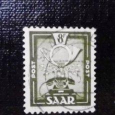 Sellos: 1951 ALEMANIA, SARRE, MOTIVOS LOCALES , 8 FR. Lote 211627016