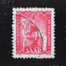 Sellos: SELLO ALEMÁN DE 1949 ANIVERSARIO DE LA UNIVERSIDAD DE SARRE, 15 FR. Lote 211627369