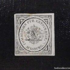 Sellos: 1865 ALEMANIA, SELLO DE RETORNO, AUGSBURG. Lote 211627607
