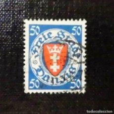 Sellos: 1924 ALEMANIA, ESCUDO, DANZIG, 50 PFG. Lote 211627870