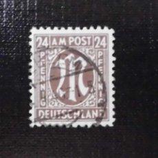 Sellos: 1945 ALEMANIA, ZONA BRITANICA AMERICANA, 24 PF. Lote 211834861