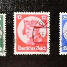 Sellos: 1933 IMPERIO ALEMAN, REY FEDERICO II EL GRANDE, 1.712 - 1.786. Lote 211837643