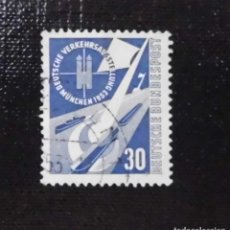 Sellos: 1953 ALEMANIA, EXPOSICION DEL TRANSPORTE, MUNICH. Lote 211838047