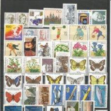 Sellos: SELLOS DE ALEMANIA AÑO 1991 COMPLETO NUEVO. CATÁLOGO YVERT. Lote 278286013