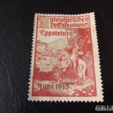 Sellos: ALEMANIA VIÑETA PRIMERA GUERRA MUNDIAL WWI.. Lote 211998025