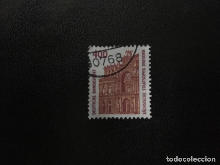 ALEMANIA AÑO 1991. SEMPER OPERA HOUSE, DRESDEN. YT:DE 1394,(980) (Sellos - Extranjero - Europa - Alemania)
