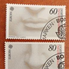 Sellos: ALEMANIA, EUROPA CEPT 1986 USADA (FOTOGRAFÍA REAL). Lote 213706630
