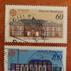 Sellos: ALEMANIA, EUROPA CEPT 1990 USADOS (FOTOGRAFÍA REAL). Lote 213727776