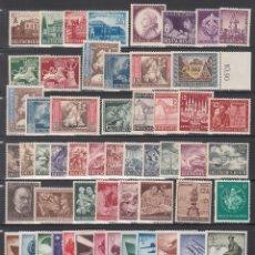 Sellos: ALEMANIA IMPERIO, 1941 - 1945 LOTE DE SERIES COMPLETAS, SIN FIJASELLOS, (VALOR EN CATALOGO 115€). Lote 213822870