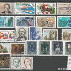 Sellos: SELLOS ALEMANIA - BERLÍN AÑO 1986 COMPLETO NUEVO. CATÁLOGO YVERT. Lote 273767053