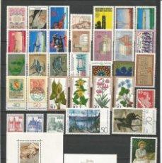 Sellos: SELLOS DE ALEMANIA AÑO 1978 COMPLETO NUEVO. CATÁLOGO YVERT. Lote 269173418