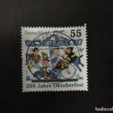 Francobolli: ALEMANIA FEDERAL 2010. 200 YEARS OKTOBERFEST IN MUNICH. YT:DE 2645,. Lote 218544262