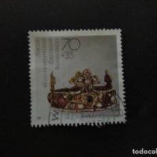 Francobolli: ALEMANIA FEDERAL 1988. 10TH.CENTURY CROWN OF OTTO III (ESSEN CATHEDRAL). YT:DE 1217,. Lote 218547112