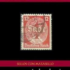 Sellos: LOTE DE SELLOS DEL III REICH ALEMAN, NACIONAL SOCIALISTA / NAZI / ESVASTICA. Lote 218672761