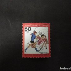 Timbres: ALEMANIA BERLIN 1976, YOUTH: YOUTH TRAINED FOR OLYMPIA. YT:DE-BE 483,. Lote 219050582