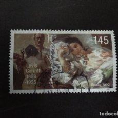 Sellos: ALEMANIA 2008. 150TH BIRTH ANNIV. OF LOVIS CORINTH. YT:DE 2506,. Lote 219236505