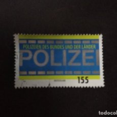 Sellos: ALEMANIA FEDERAL 2019. TRIBUTE TO FEDERAL AND STATE POLICE. YT:DE 3261,. Lote 219239786