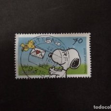 Sellos: ALEMANIA FEDERAL 2018. PEANUTS - MAIL FOR SNOOPY. YT:DE 3151,. Lote 219240837