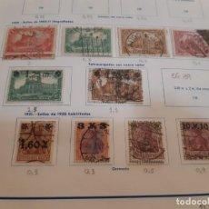 Sellos: ALEMANIA. COLECCION EN USADO DEL PERIODO 1920 - 1949. CATALOGO ++4.000 €. Lote 219735563