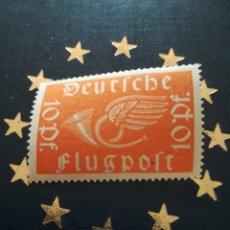 Sellos: SELLO ANTIGUO ALEMANIA FLUGPOST 10 PF, CON GOMA. Lote 220137038