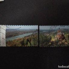 Sellos: ALEMANIA FEDERAL 2020. VIEW OF BONN-SIEBENGEBIRGE. YT:DE 3291-3292,. Lote 221507827