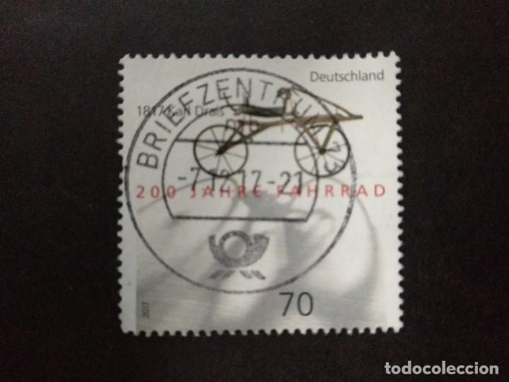 ALEMANIA FEDERAL 2017. BICENTENARY OF THE INVENTION OF THE BICYCLE. MI:DE 3320, (Sellos - Extranjero - Europa - Alemania)