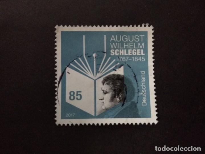 ALEMANIA FEDERAL 2017. AUGUST WILHELM SCHLEGEL (1767-1845). MI:DE 3332, YT:DE 3116, (Sellos - Extranjero - Europa - Alemania)